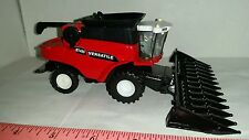 1/64 ertl custom farm toy versatile rt490 combine with floaters and corn head!