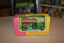 Matchbox MODELS OF YESTERYEAR Y9 1912 SIMPLEX (blister pack) NEW