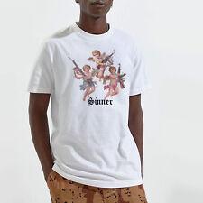 Sinner Angels T Shirt Unisex Cherub Vintage Street Style Saints Retro Print Tee