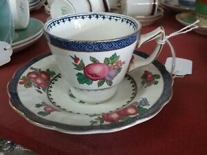 BOOTHS DEMI TASSE COFFEE CUP & SAUCER ENGLAND