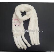 """Girl's Kids Happy Baby Fuzzy Cozy Super Soft SCARF Faux Fur Warm Winter 62"""""""