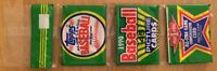 1990 Topps Baseball Card Rack Pack Will Clark Showing TWICE! Giants First Base