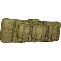 "New Valken Tactical 36"" Double Carbine Rifle Gun Carry Case Bag - Desert Tan"