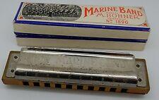 Hohner Marine Band Harmonica No 1896 Key C Made in Germany