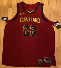 Nike Cleveland Cavaliers Icon Authentic/AeroSwift Jersey - LeBron James Size XXL