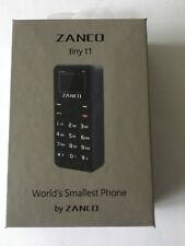 Zanco Tiny T1 Mobile Phone Worlds Smallest Phone Gadget Mini SEE IT TO BELIVE IT