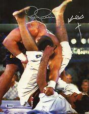 Kimo Leopoldo & Royce Gracie Signed 11x14 Photo BAS Beckett COA UFC 3 Autograph