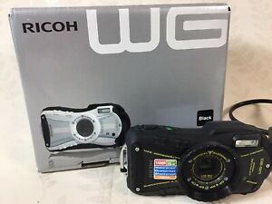 Ricoh Digital Camera, Model WG-20,14.0MP Waterproof, Shockproof
