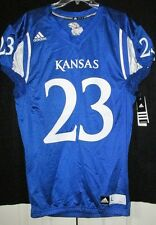 **Official**Adidas Kansas Jayhawks Football Jersey 2 Sided Brand New With Tags