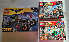 3 Lego Super Heroes 70905 / 76050 / 76015 Excellent Condition Kept in a Showcase
