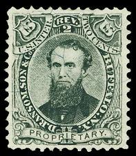 Scott RS197b 1871 2c D. Ransom, Son Medicine Revenue on Silk Paper VF Cat $18