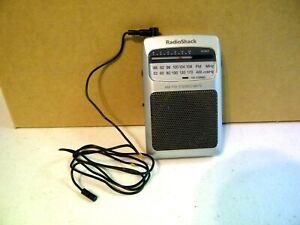 Vintage Radio Shack Am/FM Stereo Pocket Radio 12-930