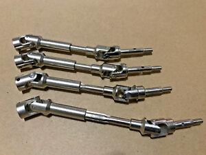 Hardened Steel Driveshafts CVD Kit For raxxas Rustler 4x4 VXL XL5