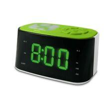 Radio réveil veilleuse Gulli vert
