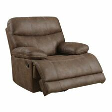 Franklin Hickory Swivel Recliner Glider with Microfiber Upholstery