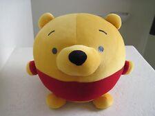 "Disney Winnie The POOH CUTE LITTLE ROUND BALL 11"" Stuffed Animal"