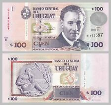 Uruguay 100 Pesos Uruguayos 2008 p88a unz.