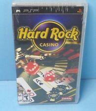 Hard Rock Casino (Sony PSP, 2007) BRAND NEW FACTORY SEALED