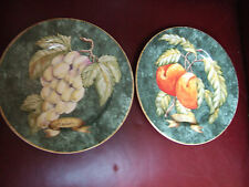 Set of 2 Plates Raisins and Peaches (Reduced