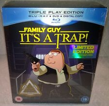 Family Guy It's A Trap Star Wars Parody (2010, UK) Limited Ed. with T-Shirt NEW