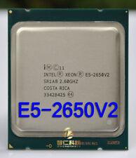 Intel Xeon E5-2650 V2 E5-2650V2 2.6GHz 20MB 4000MHz LGA2011 CPU Processor SR1A8