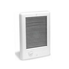 Cadet 67507 Com-Pak Fan Forced Electric Wall Heater w/Thermostat, White, 2000W