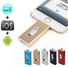 512GB OTG Dual USB 3in1 Memory i Flash Drive U Disk For IOS iPhone iPad/Android