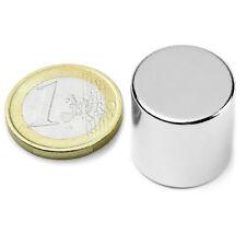 Super Magnete Disco al Neodimio dimens. 20 x 20 mm Potenza 15 Kg. Magnetoterapia