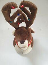 Singing Motion Sensor Reindeer Head