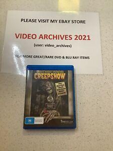 Creepshow Blu-ray   Stephen King & George A. Romero   Region B