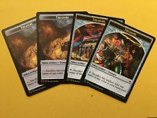 MTG X4 Treasure Tokens NM/M Magic the Gathering
