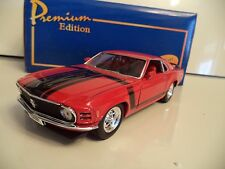AMERICAN MINT WELLY PREMIUM FORD MUSTANG BOSS 302  1970 1/24TH SCALE IN BOX.