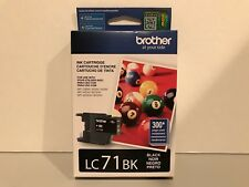 Brother LC71BK Ink Cartridge Black AUTHENTIC BRAND NEW SEALED!