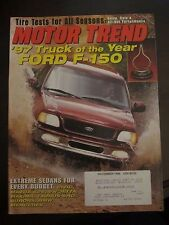 Motor Trend Magazine December 1996 Ford F-150 Truck of Year (WW) BB OO A1