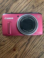 Canon PowerShot SX260 HS 12.1MP Digital Camera - Red