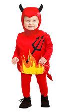 plushy Diavolo Costume per bambini NUOVO - ragazza Carnevale rivestimento
