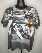 90s 00s Chase Authentics Dale Earnhardt NASCAR Tshirt All Over Print Mens L Hype