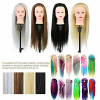 PRO Hair Salon Cosmetology Hairdressing Practice Head Mannequin Dolls Tools MR