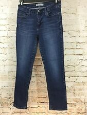 LEVIS Strauss Women's Mid Rise Skinny Stretch Blue Jeans Size 10S  (B5#3)