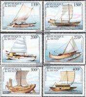 Benin 1126-1131 (kompl.Ausg.) postfrisch 1999 Segelschiffe