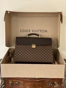 Genuine louis vuitton briefcase