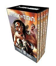 Hajime Isayama Collection Attack On Titan Season 2 Vol (9-12) Manga 4 Books Set
