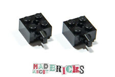 Pack of 2 New Lego 30389 2x2 Brick With Vertical Stub 4163904