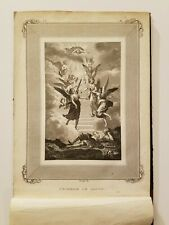 Book Of 27 Religious Themed Engravings, 1800's, Rouargue, Lalaisse, Desjardins