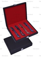 MULTI HAND STRIPPING KNIFE CAT DOG PET GROOMING COMB HAIR 4 PIECE COARSE F,S,M