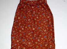 Portraits by Norther Isles Floral Rust Skirt, 14
