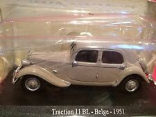 SUPERBE CITROEN TRACTION 11 BL BELGE 1951 ech 1/43 NEUF SOUS BLISTER