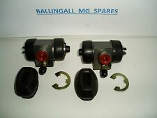 180-635 181-760 MGB REAR WHEEL CYLINDERS AND HANDBRAKE BOOTS (PAIR)