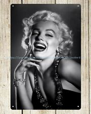 TIN SIGN Marilyn Monroe Dress Picture Portrait Photo A116