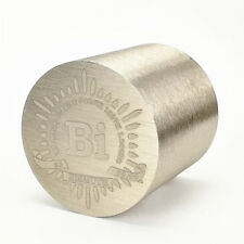 1Kg Finish Turning Bismuth Metal Cylinder 52×52mm 99.99% Engraved Periodic Table